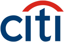 Citi Logo with the Traveler's Umbrella